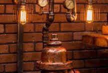 Steampunk - Lampen
