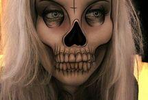 make up zombie