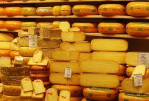 het maken van Hollandse kaas en Holl.eten