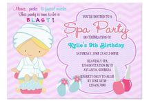 Invitaciones Party Spa