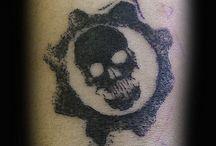 Tatuaż Gears of War