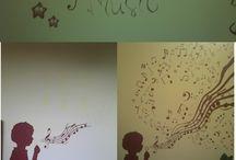 My work / DIY, wall, painting, music, creative ! :)