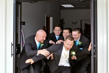 Groom and groomsmen  / by Stephanie Sheets