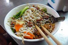 Asian Noodle Recipes - Fabulous Images - Presentation Ideas for Noodles / Best Asian Noodle Recipes and Images