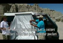 Camper Awning / ShadyBoy Camper Awnings – inexpensive, practical, durable awnings!