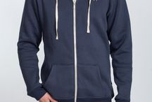 """Tall Men's Hoodies / Extra Long Mens Hoodies in 100% cotton. They're regular fit but with extra length in the body and arms, making them ideal for tall men who are 6'6"""" plus, with slim and athletic builds."""