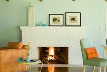 Fireplaces / by Dana Norstern Minor