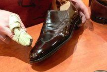 cirage de chaussures