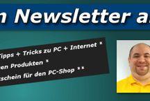 Newsletter & WhatsApp-Service / Unter www.mks-newsletter.de können Sie sich wahlweise für den Shop-Newsletter (per E-Mail) oder zum WhatsApp-Info-Service mit Infos, Tipps, Tricks + Anleitungen rund um EDV, Internet, Multimedia und weiteren Themen anmelden.