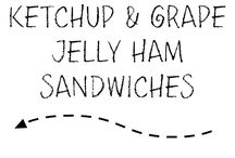 Sandwiches I'd Like to Sink My Teeth into. / All the Best Sandwiches