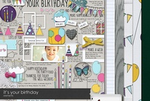 Birthday scrapbooking kits