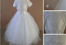 "Big Fat Gypsy Communion Dresses - Little Girls Large Multi Layer Dresses / Due to increased demand for 2014 we will increase our Gypsy Communion Dress  Selection and will have 8 new Big Fat Gypsy Communion Dress Styles -  this is For little girls who want the biggest Communion dress with multiple layers of underskirts or hooped skirts for a ""sticky out"" Communion Dress"