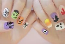 Halloween nail ideas / My clients are all mad for Halloween nails so here are some ideas.
