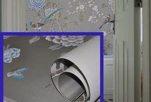 washing room wallpaper