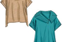 sewing patterns and clothes