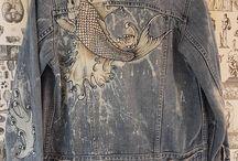 veste blue jeans
