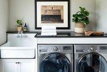 Vignettes: Laundry Room