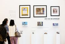 CMA - Children's Museum of the Arts / Children's Drawings Transformed into 2D/3D Dioramas