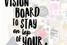 Vision Boards / All sorts of pins about creating vision boards. A place for vision board ideas, tips, tricks and inspiration.