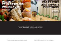 The Moody Chef website by KORE