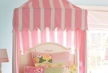 Girls bedroom ideas / by Ashly Strother