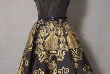 gowns et al., 1950s