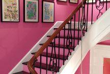 paredes / los colores son del alma, los elije el humor, la pasion, el deseo, el amor.... en mi casa conviven todos ellos