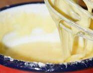 polewa do ciast i deserów / różne polewy i kremy do ciast