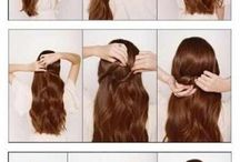 Hairstyles - step by step