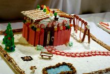 gingerbread houses / by Cati Hornbuckle
