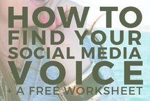 Social Media Tips / General tips on how to deal in the world of social media