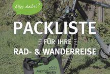 Tipps für Ihre Rad- und Wanderreise / Das Team von AugustusTours gibt Ihnen hilfreiche Tipps für Ihre Rad- und Wanderreisen