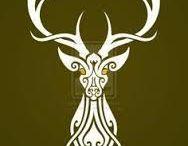 Deer / deer, antler, chevreuisl, cernunnos, cerf