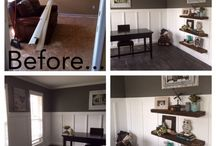 Remodeling Projects Done By Me / Home remodeling projects that I've done  / by Mélanie Lupien
