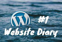 Website Journey / My Website Journey blog including monthly Website Diary with tutorials for blogging/website success  #blog #socialmedia  #pinterest
