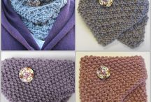 Knitting: Cowls, shawls and scarfs