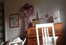 Mitt rum som det ser ut / Pågående tillfixande!