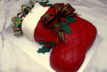 christmas cakes, cookies and treats