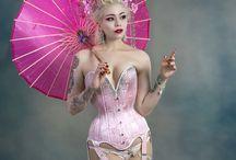 Sakura Blossom Geisha / Act inspired by Japanese culture.