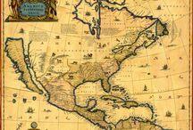 Historie / Mapy,obrazy,staré předměty....