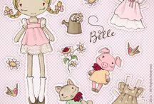 oblekací panenka