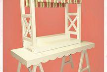 Mobiliario para CandyBar
