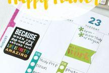 Planner Ideas & Printables