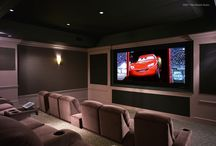 Home Theater / We specialize in home theaters and can develop a customized system to meet your needs and budget.