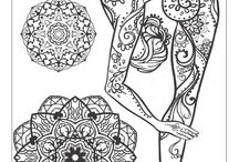 omalovánky jóga