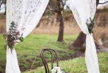 Huwelijk decoraties