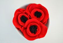 Anzac Day Crafts / Crafts to make for Anzac Day including poppy crafts