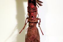Upcycled Sculptures. Recycled Art / Original Art Work by Rocio Matosas @rociomatosas www.rociomatosas.com http://mbore.tictail.com/