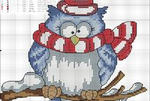 Needlework / Cross stitch, embroidery, embellishing and more