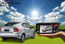 Caska India / CASKA India for GPS based car navigation system, car multimedia player and headrest screen as best system for branded cars with accessories brought to India by Auto Trendz Impex Pvt Ltd.